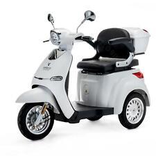 VELECO Cristal Scooter elettrico 3 ruote Disabili Anziani 25km/h 1000W BIANCO