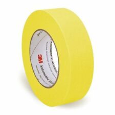 "3M 06654 388N Automotive Refinish Masking Tape 1.41"" x 55m, 1 Roll, Yellow"