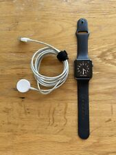 Apple Watch Series 1 42mm Space Grey Aluminium Case Black Sport Band -...
