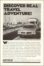 1964 vintage travel AD AIRSTREAM Travel Trailers Land yachts on the road! 103017