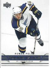 ROMAN POLAK 2006-07 Upper Deck YOUNG GUNS Rookie Card RC #488