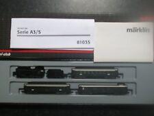 Marklin spur z scale/gauge Swiss Old Timer Train Set. Very Rare.