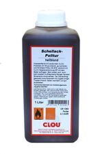 Clou Schellackpolitur 1250 hellblond hochwertige Schellack-Politur 1 Liter