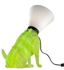 Lampe de table tidog sur pied ti-dog en jaune fluo décorative DOGGY CHIEN DOG