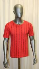 T-shirt manches courtes homme YVES SAINT LAURENT vintage coton rouge taille L