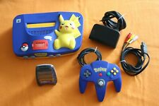 Nintendo 64 Pokemon Pikachu Edition Original Controller Expansion Transfer Pak