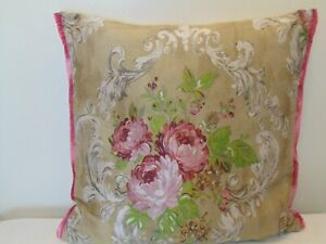 Designers Guild floral Fabric Royal Collection Beatrice Birch Cushion Cover