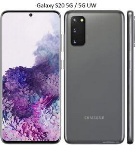 Samsung Galaxy S20 5G / UW 128GB Verizon GSM Unlocked OR Locked GOOD 7.5- 8.5/10