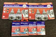New Ceva Feliway Multicat 30 Day Refills 8 Total For Cats / Kittens