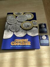 OFFICIAL CHANGE CHECKER COIN COLLECTOR ALBUM - USED WITH LOADS OF EXTRAS