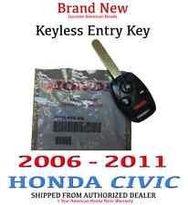 Genuine OEM Honda Civic EX Hybrid Si Remote Entry Key 2006-2011 (35111-SVA-306)