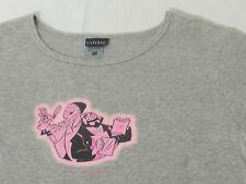Jay and Silent Bob Women's T Shirt Gray Hanes Silver Large