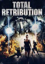 BRAND NEW ZOMBIE HORROR DVD // TOTAL RETRIBUTION //  ROBIN KURTZ,  LUCY RAYNER,