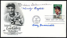 Woody English, Hal Schumacher & Cuccinello Autographed First Day Cover 153994