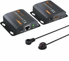REPETIDOR EXTENSOR HDMI 60M IR REMOTO 1080P ETHERNET NUEVO PC DVD PS4 PS3
