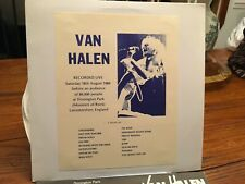 VAN HALEN 2LP DONINGTON 1984 LIVE NM/EX