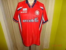 """Middlesbrough FC Original errea Heim Trikot 1999/00 """"BTcellnet"""" Gr.XL TOP"""