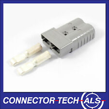 GENUINE Anderson Grey 350 Amp Plug with 2/0 Contacts Connector-Tech #6320G1