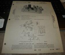 MAGNAVOX AUDIO AMPLIFIER CHASSIS MODEL: AMP155AA (SAMS PHOTOFACT 354-11)