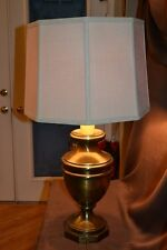 Antique Table Lamp by Frederick Cooper MidCentury BIG Chunky Brass Urn >NO Shade