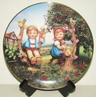 Apple Tree Boy and Girl - M.I. Hummel Collector Plate - Danbury Mint