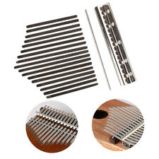 17 Key Kalimba Single Board Mahogany Thumb Piano Keyboard Instrument Parts