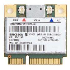 IBM Ericsson H5321GW 60Y3297 3G WWAN Card for Thinkpad x1 Carbon X230 W530 T430