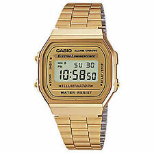 Casio Stainless Steel Case Unisex Wristwatches