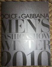 Dolce&Gabbana D&G Fall Winter 2010 catalog Men's look book fashion top shoe bag