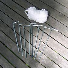 GAZEBO ACCESSORI: pegging e Guy Rope Set per Gazebo / Marquee / tenda