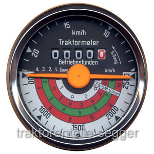 Traktormeter für Deutz D 4006 D 5006 D 5506 115 mm Traktor Trecker Schlepper 702