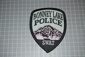 Bonney Lake Washington Police SWAT Patch (B17-8)