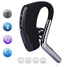 Black Wireless Stereo Bluetooth Headset Earpiece For Samsung Galaxy S7 Edge PDA