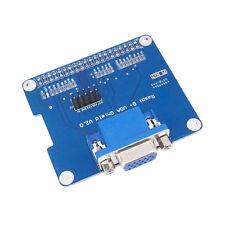 GPIO to VGA Adapter HAT Expansion Board/Shield for Raspberry Pi 3 Model B, pi 2B