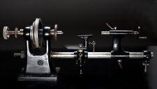 sehr alte Uhrmacher Drehbank - ein Ausstellungsstück.