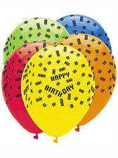 """Blocco decorazione festa di compleanno 12"""" Palloncini in Lattice 6 Pack LEGO ispirati"""