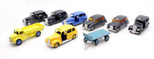 DINKY / LONE STAR LOT OF 7 ASSORTED TAXIS, PLUS DODGE TIPPER & 1 TRAILER (1H)