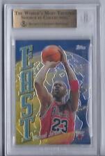 Michael Jordan & Kobe Bryant 1998-99 Topps East West Graded Beckett 9.5  W/2 10s