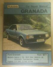 AUTODATA 283 CAR REPAIR MANUAL ~ FORD GRANADA MK II from 1977 Onwards.