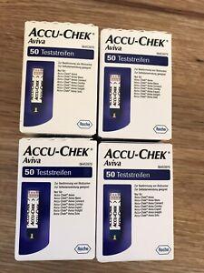 Accu Check Aviva - Teststreifen 4 x 50 St. (200 St.)