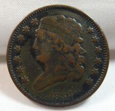 1832 US Classic Head Half Cent