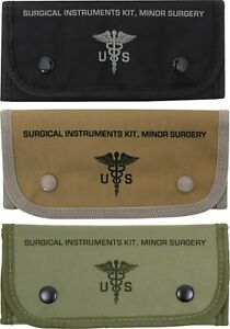 Surgical Instruments Kit and Molle Pouch