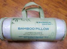 Casablanca Collection Hypoallergenic Bamboo Shredded Memory Foam Pillow Queen