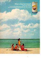 1967 Falstaff Beer ~ Classic Original Print Ad