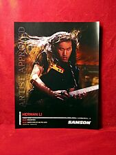 THREE<<>>Dragonforce<>Herman Li & Sam Totman Promo Posters<>Zoom<>GHS