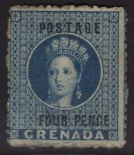 GRENADA SG23 1881 4d BLUE UNUSED SOME OG