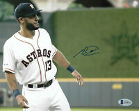 Abraham Toro Signed 8x10 Photo MLB Autographed - Houston Astros BECKETT COA 4