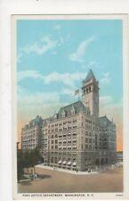 Post Office Department Washington DC Vintage USA Postcard 510a