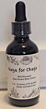 Wild Harvested Chaga Mushroom Double Extract Tincture 2 oz
