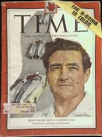 Vintage Time Magazines Canada Edition April 26 1954 Road Racer Briggs Cunningham